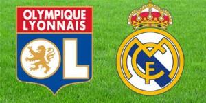 Матч Лиона - Реал Мадрид