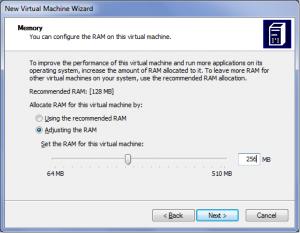 Создание виртуальной машины