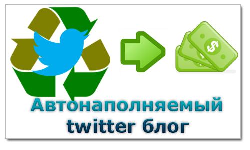 Как Сделать Автонапоняемый Twitter?